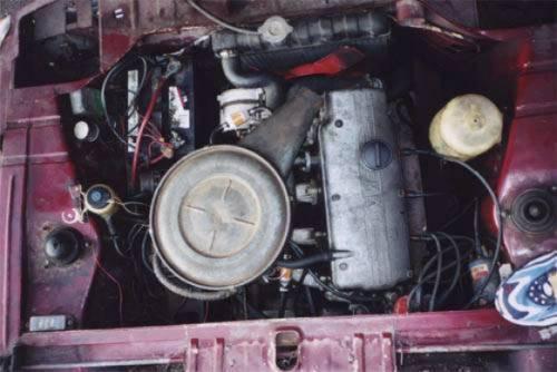 москвич 412 двигатель от bmw